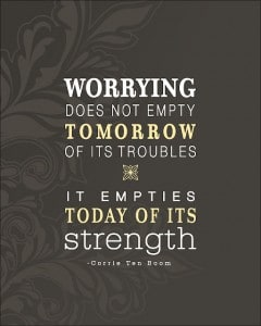 Worry Does Not