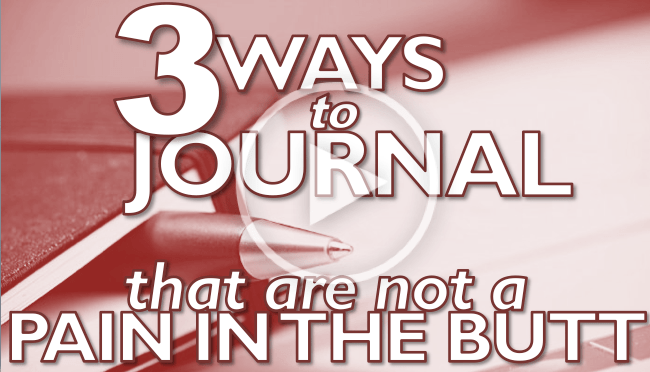 3 Ways to Journal