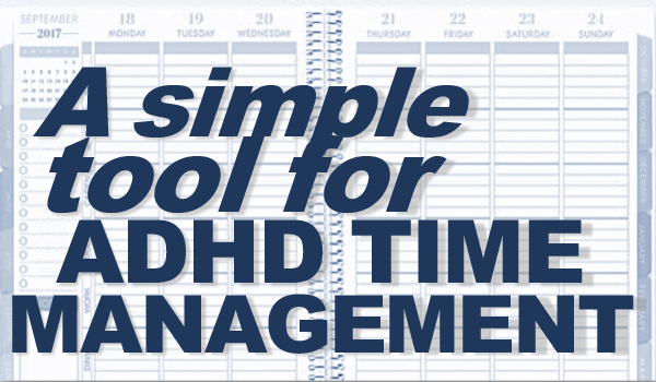Trick for ADHD Time Management