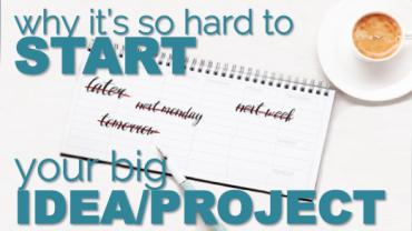 How to Start Your Big Project